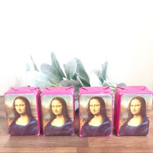 Other - SOAPS | Set Of 4 Mona Lisa Rose Soap from France